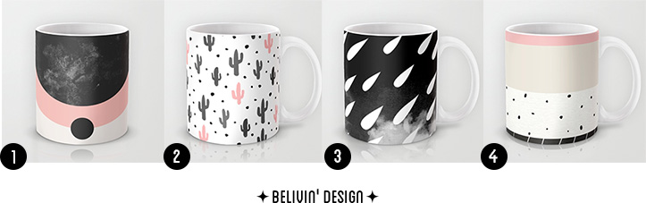 Printed Mugs - Winter Inspiration