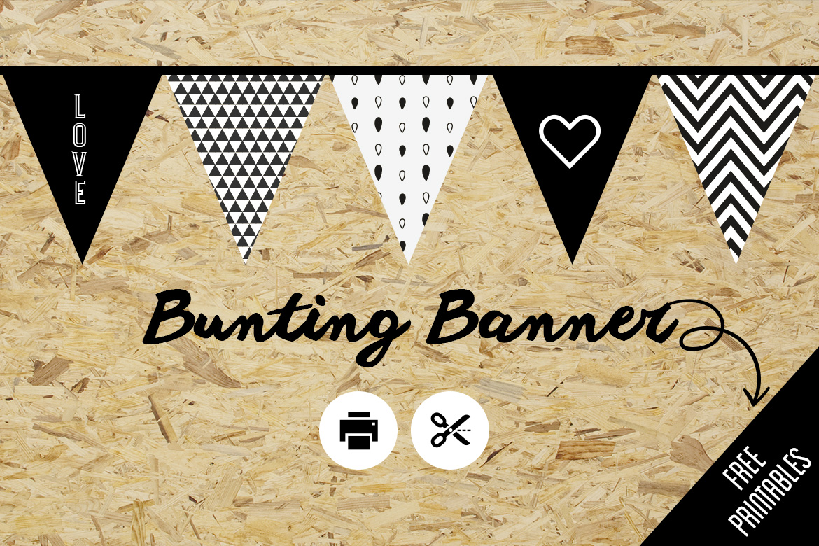 Decorating With Flags Bunting Free Printable Belivindesign