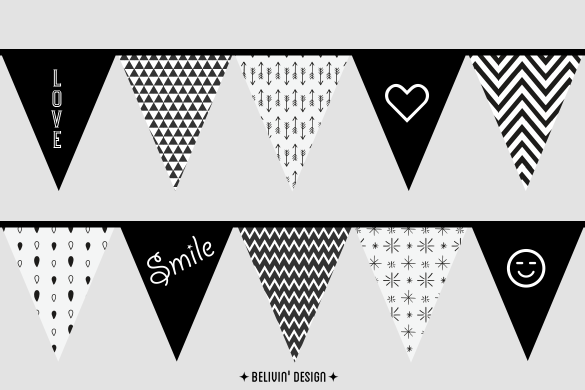 bunting kids room decor