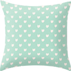 "Cute dainty mint cats pattern"" by Allyson Johnson"