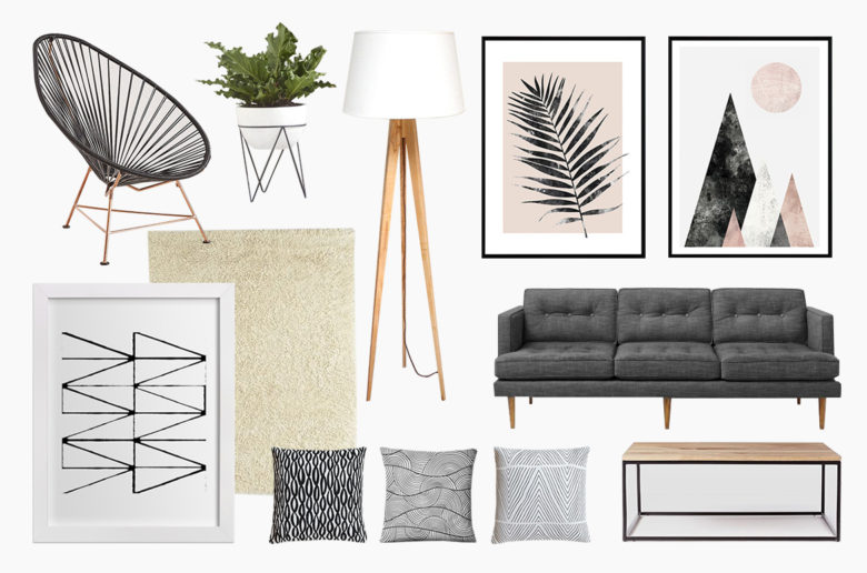 Scandinavian Design home decor