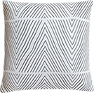 Uneasy stripes pillow