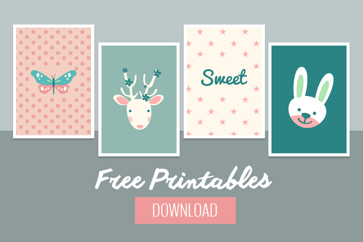 graphic relating to Free Printable Decor identify Adorable Child Wall Decor - Totally free Printable - BelivinDesign