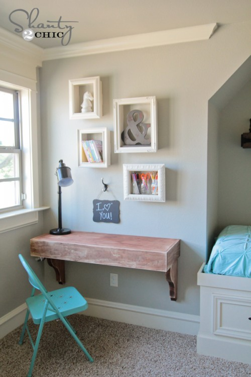 DIY-Frame-Shelves by shanty-2-chic