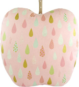 Pink Apple Throw Pillow