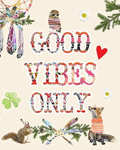 Good vibes only - Canvas Print