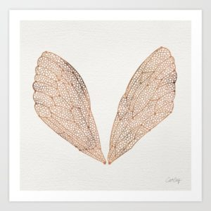 cicada-wings-in-rose-gold-prints