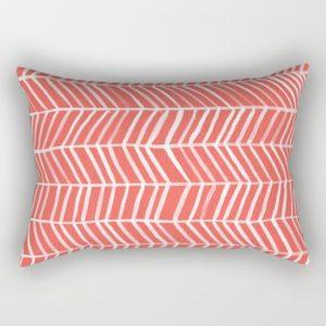 coral-herringbone-9aa-rectangular-pillows