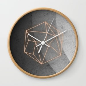 geometric-solids-on-marble-5cl-wall-clocks