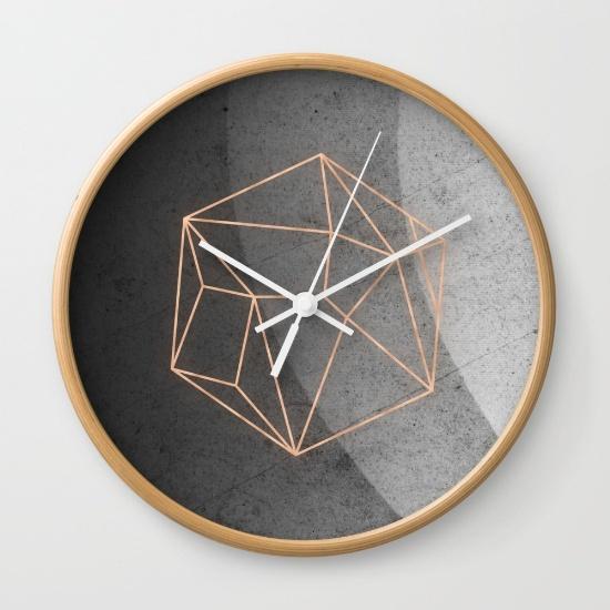 geometric-solids-on-marble-5cl-wall-clocks