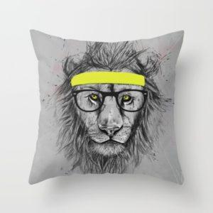 hipster-lion-pillows