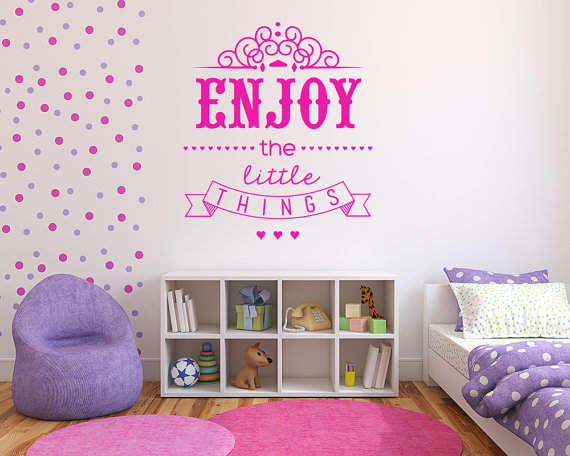 Enjoy the Little Things Decal