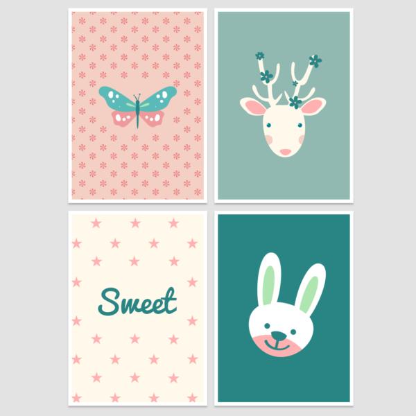 Nursery Wall Decor - Free Printable