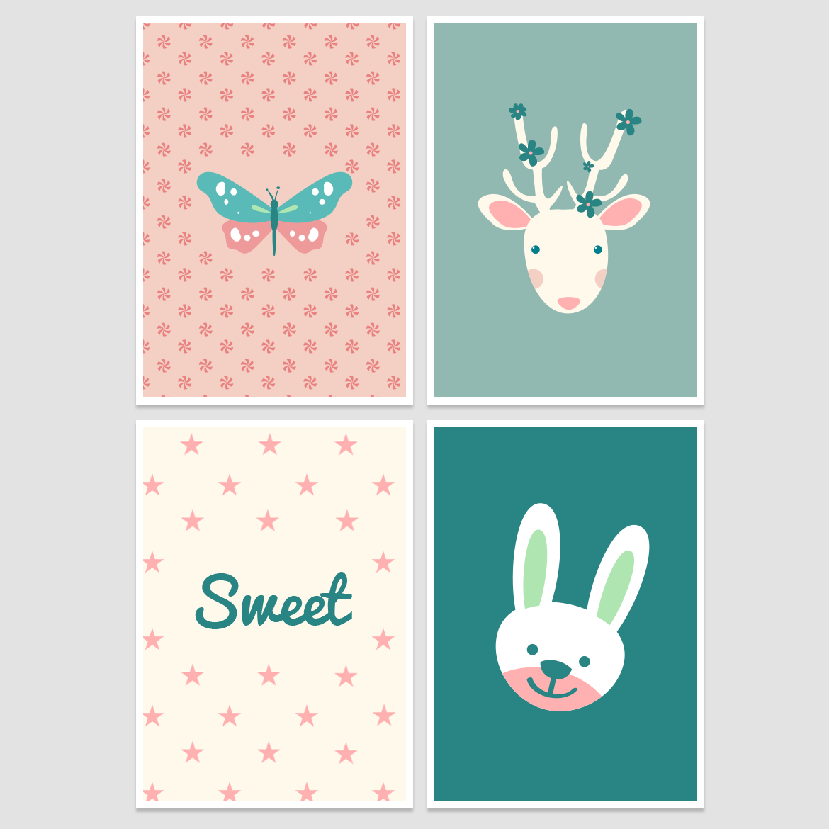 Nursery Wall Decor - Free Printable