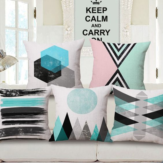 Nordic Abstract Geometric Home Decor Pillow