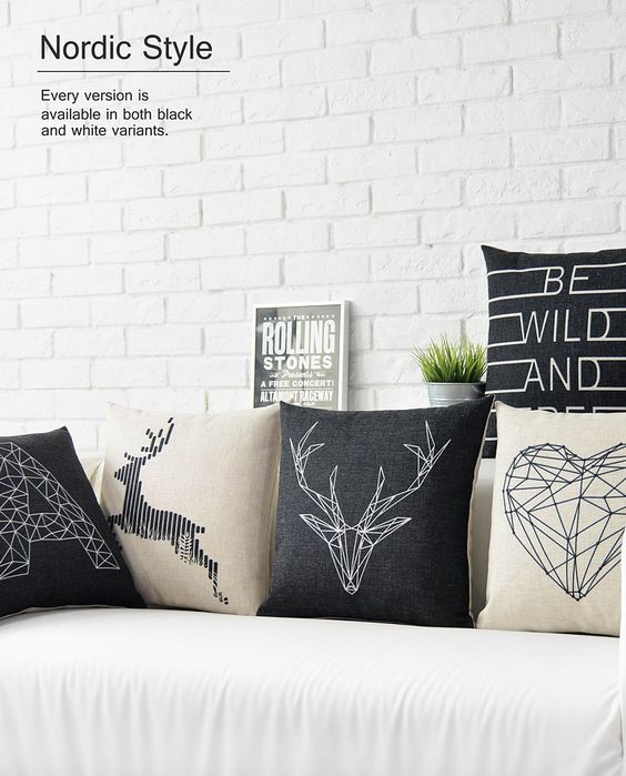 Nordic Style Home Pillows