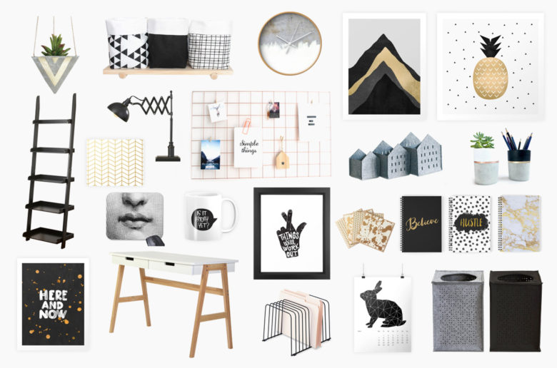 Home workspace decorating ideas