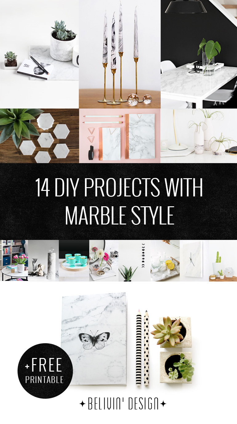 Marble DIY Projects