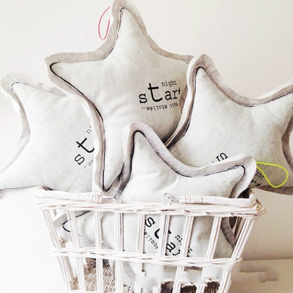 Star pillow glow in the dark