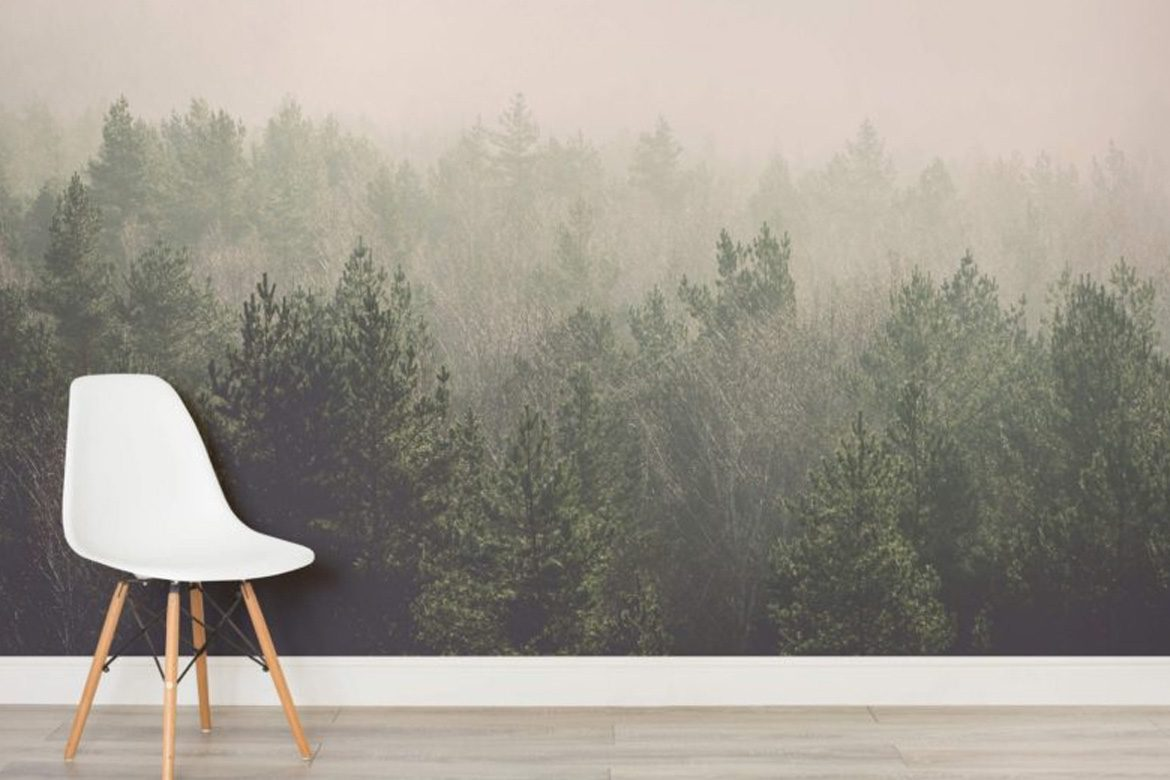 20 Wallpapers and Wall Murals that Make a Statement BelivinDesign