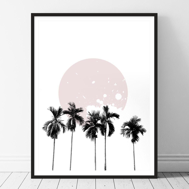 Palm Trees Printable