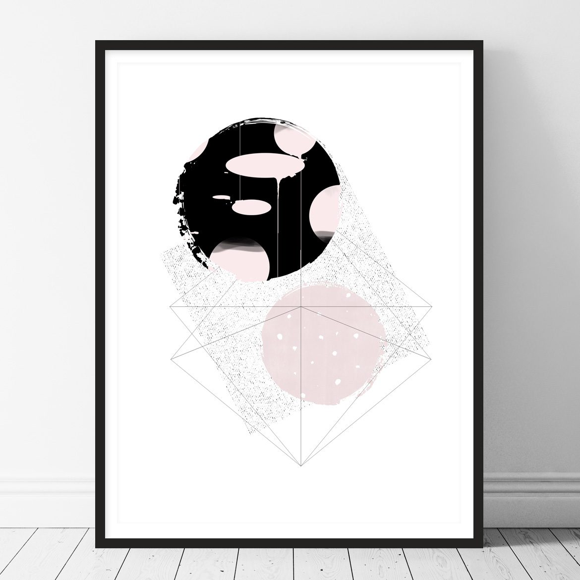 Abstract Printable wall art