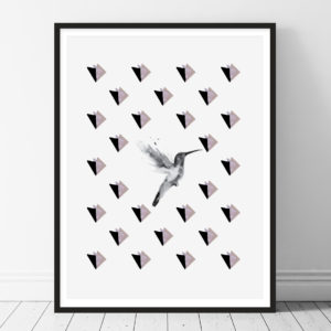 Bird Splash Printable wall art