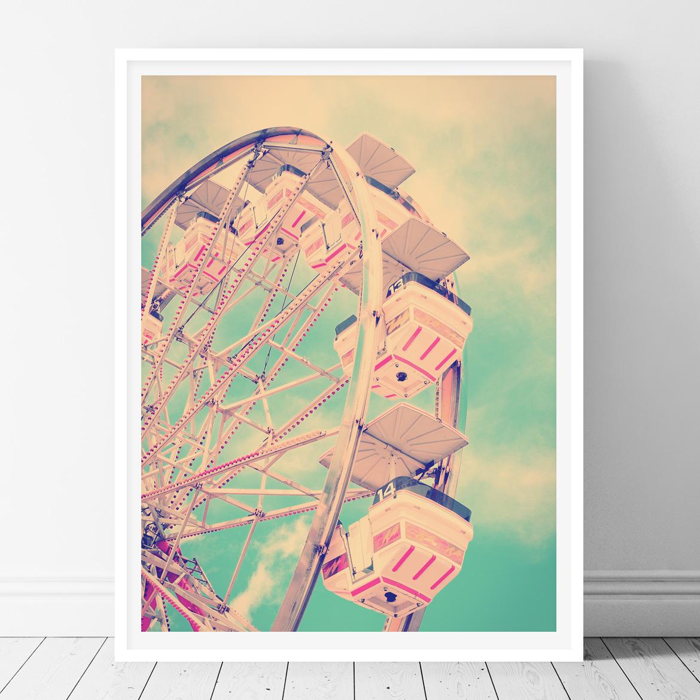 Ferris Wheel - Printable Wall Art