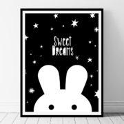 Sweet Dream Printable wall art