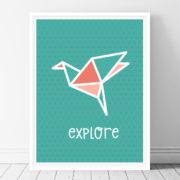 Explore-Printable Wall Art