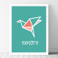 Explore-Printable Wall Art