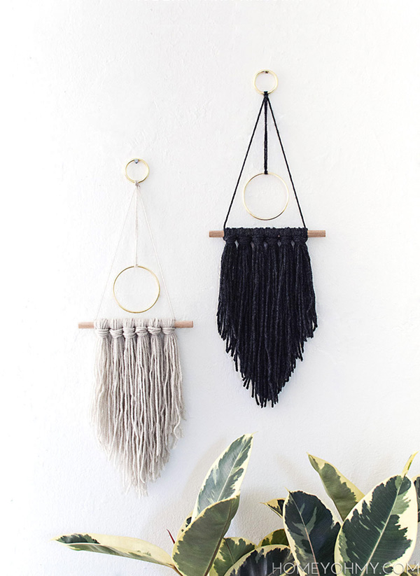 DIY-modern-wall-hanging