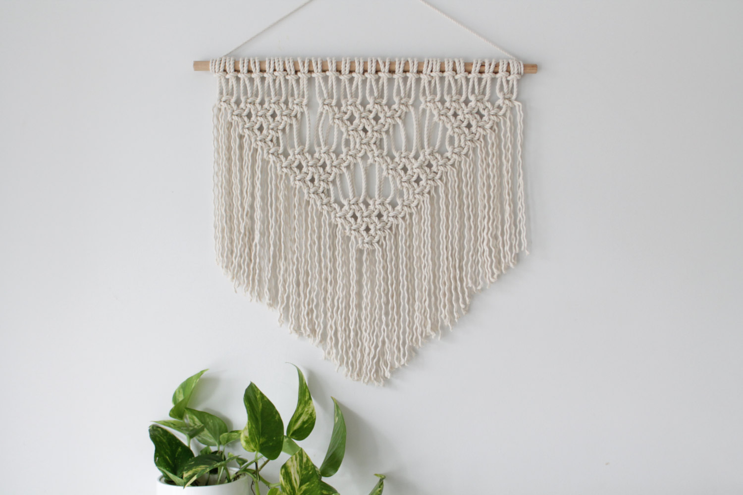 Diamond Macrame Wall Hanging
