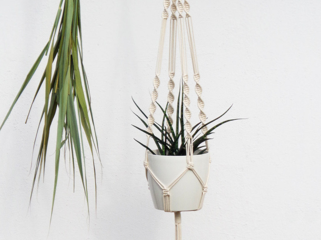 photograph relating to Free Printable Macrame Plant Hanger Patterns named Macrame Wall Hangings Plant Hangers - Invest in or Do it yourself