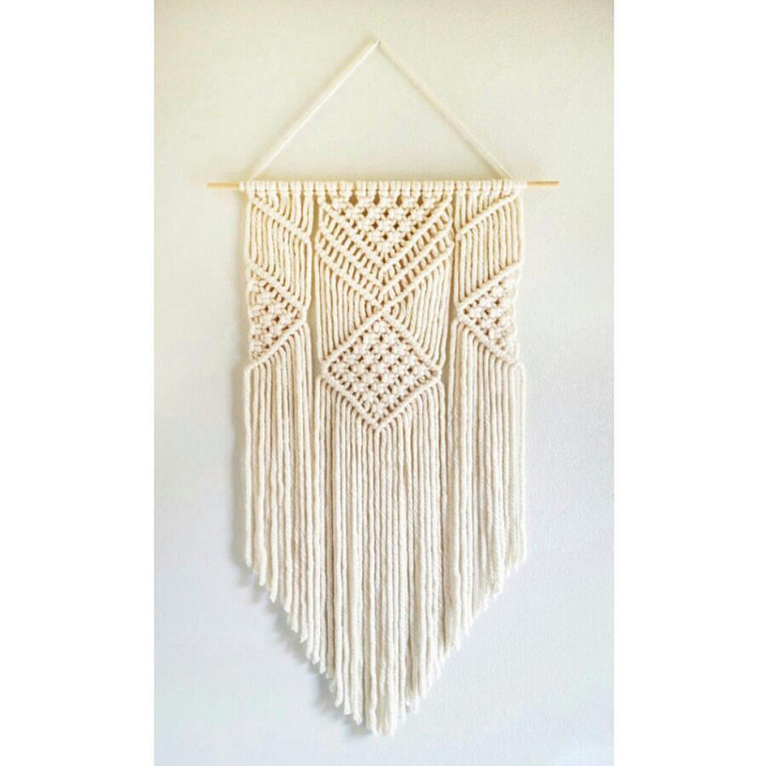 Handmade macrame wall hanging belivindesign for Wall hanging