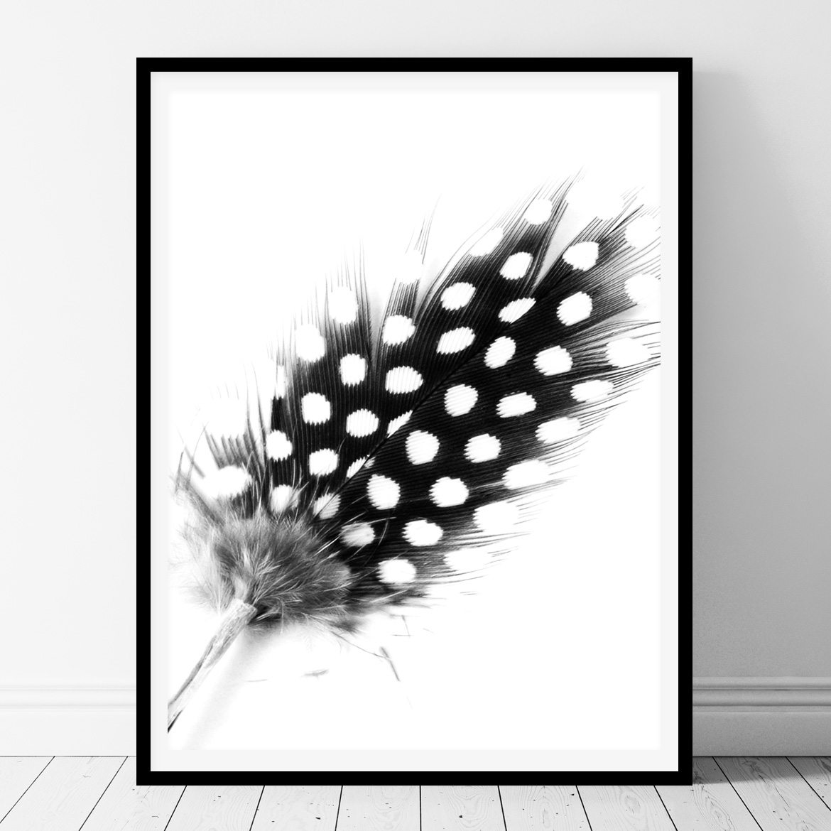 Dots feather printable