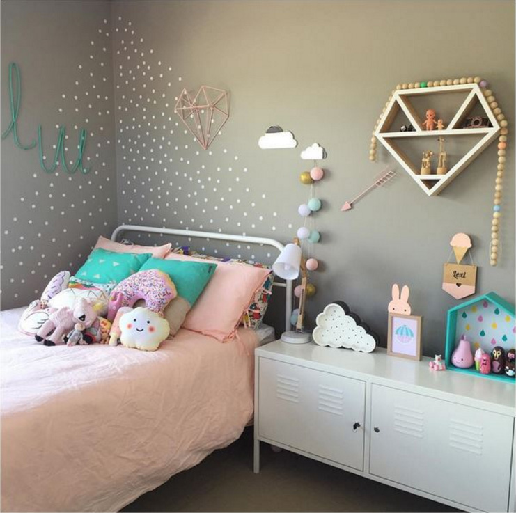 Pretty Room Decorations Pink Girls Bedroom Ideas Pretty: 48 Kids Room Ideas That Would Make You Wish You Were A