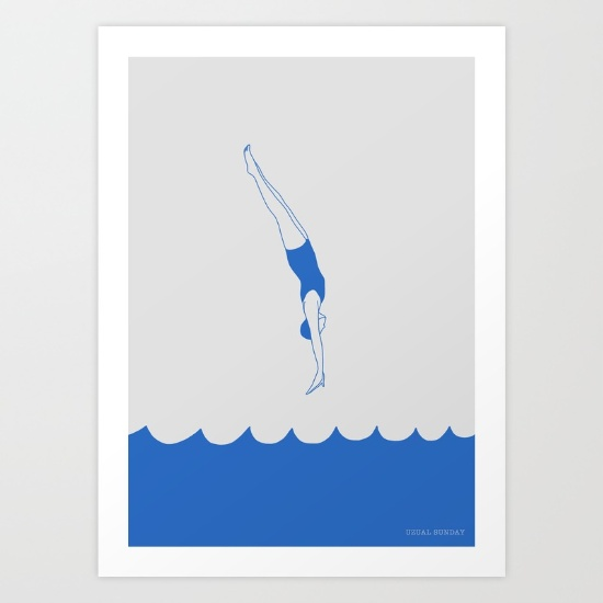 diving-into-the-sea-prints