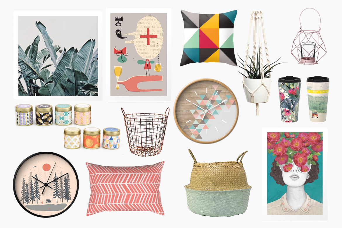 Perfect A Gift Guide For Interior Lovers Part II: Colorful