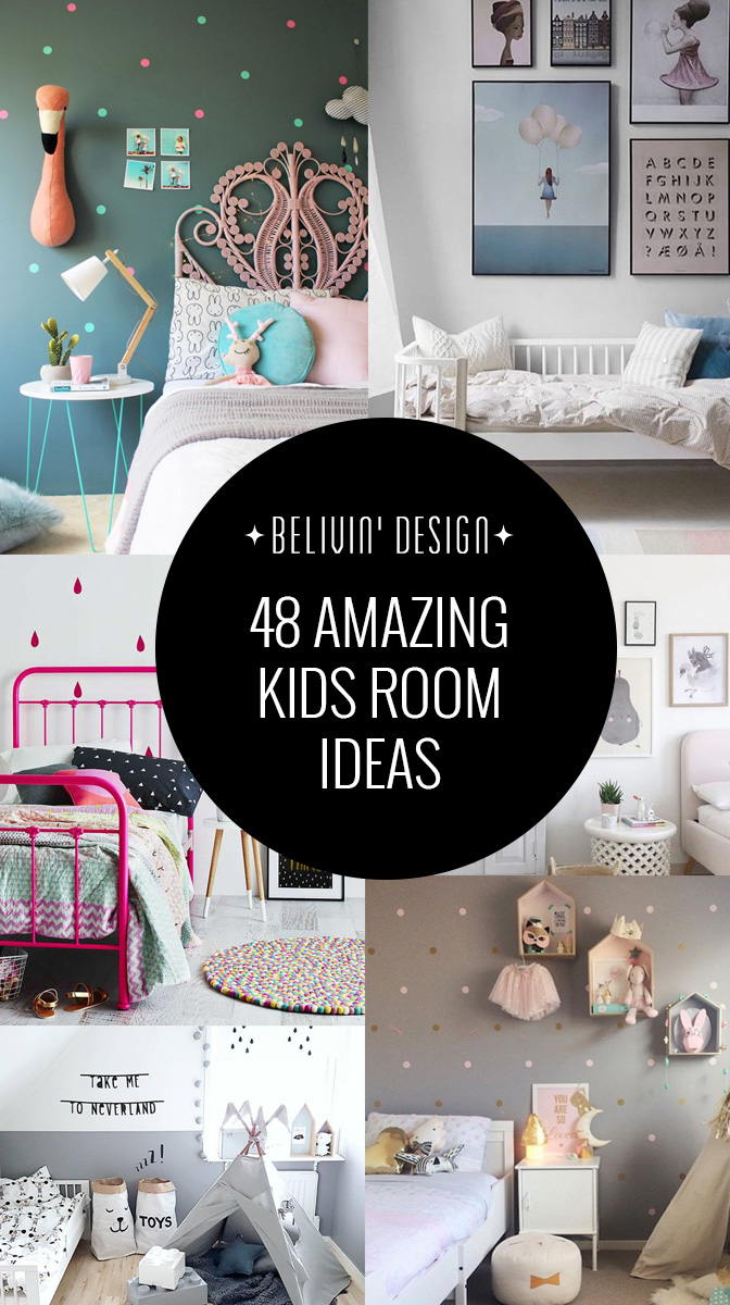 48 Gorgeous kids rooms ideas