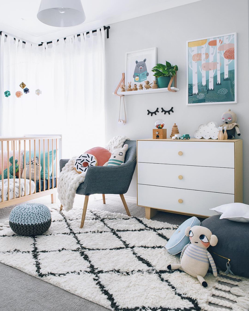 Baby Room Accessories: Top 7 Nursery & Kids Room Trends You Must Know For 2017