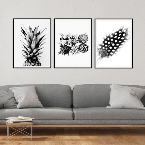 Scandinavian style printable wall art