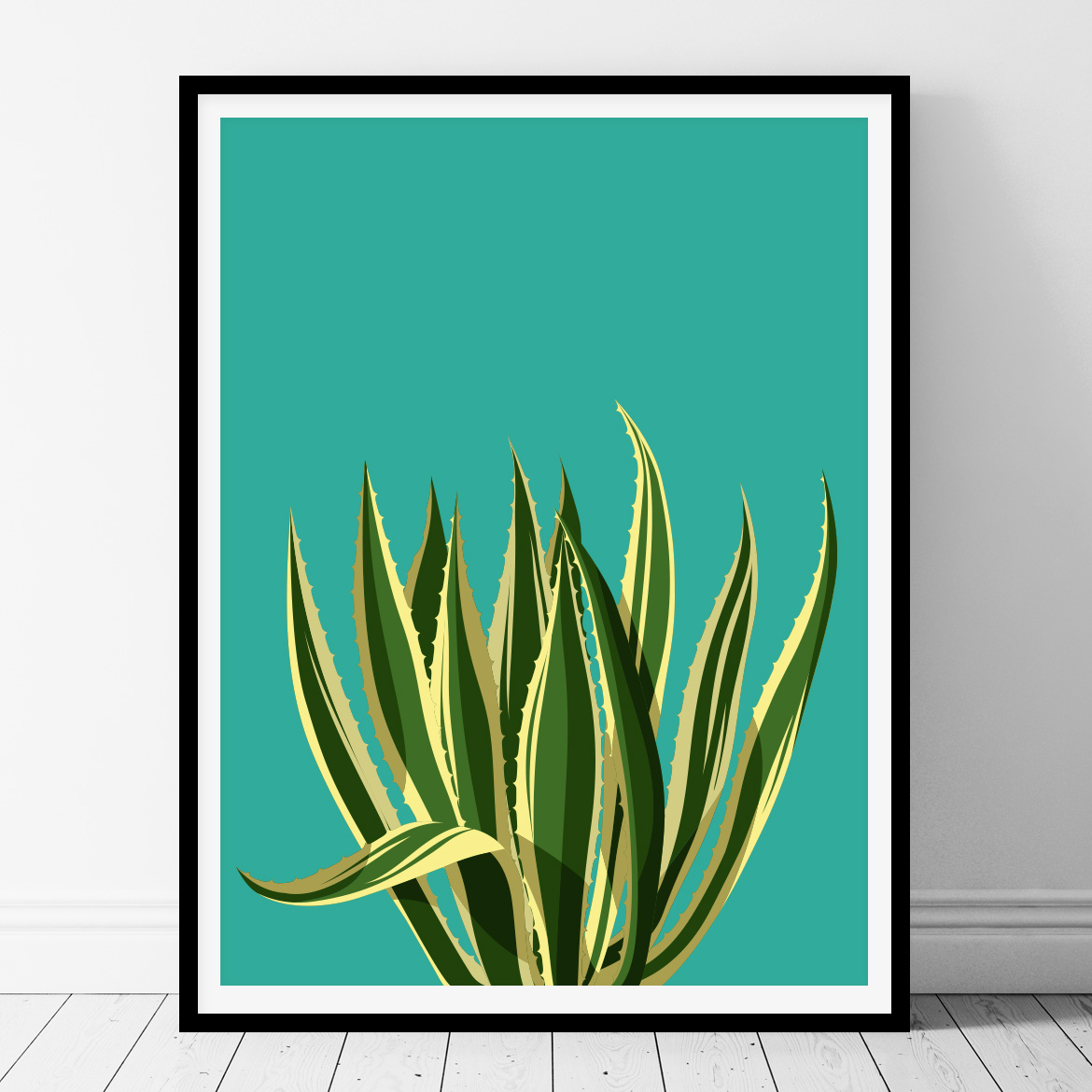 graphic relating to Cactus Printable referred to as Environmentally friendly Cactus- Printable Wall Artwork