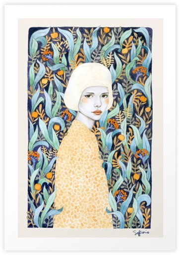 Emilia-Art Print