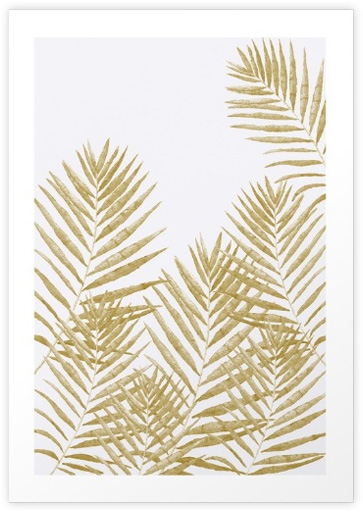 Fern Golden-Art Print