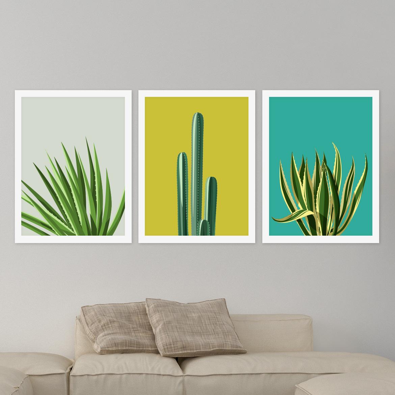 Wall Decor Set Up : Cactus printable wall art belivindesign