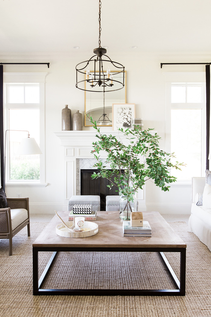 Natural Look Coffee Table Decor