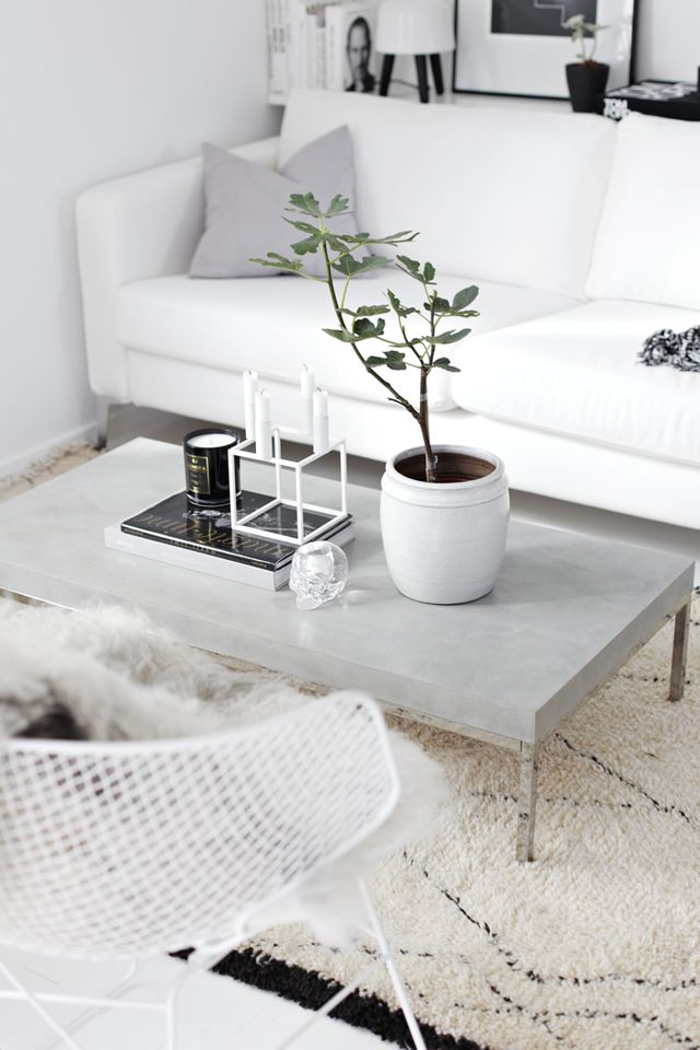 Nordic Coffee Table Decor Ideas
