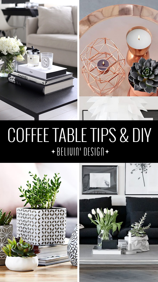 29 TIPS FOR A PERFECT COFFEE TABLE DESIGN
