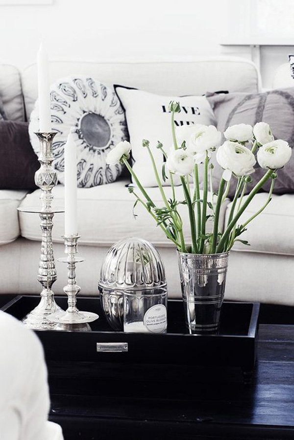 29 tips for a perfect coffee table styling - belivindesign Living Table Decor